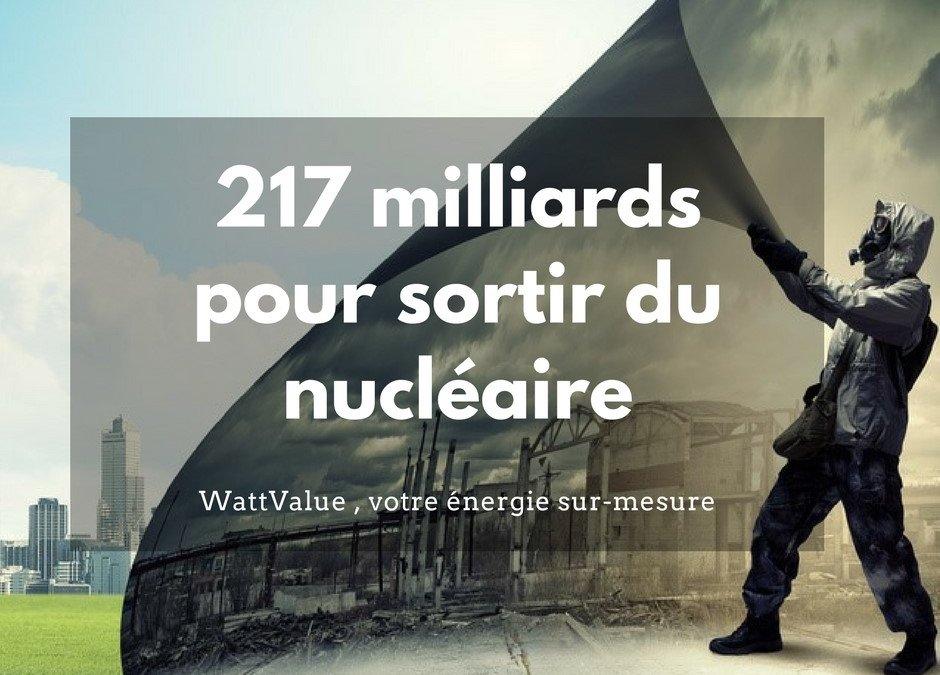 217 Milliards pour sortir du Nucléaire: Et si on choisissait l'énergie renouvelable ?