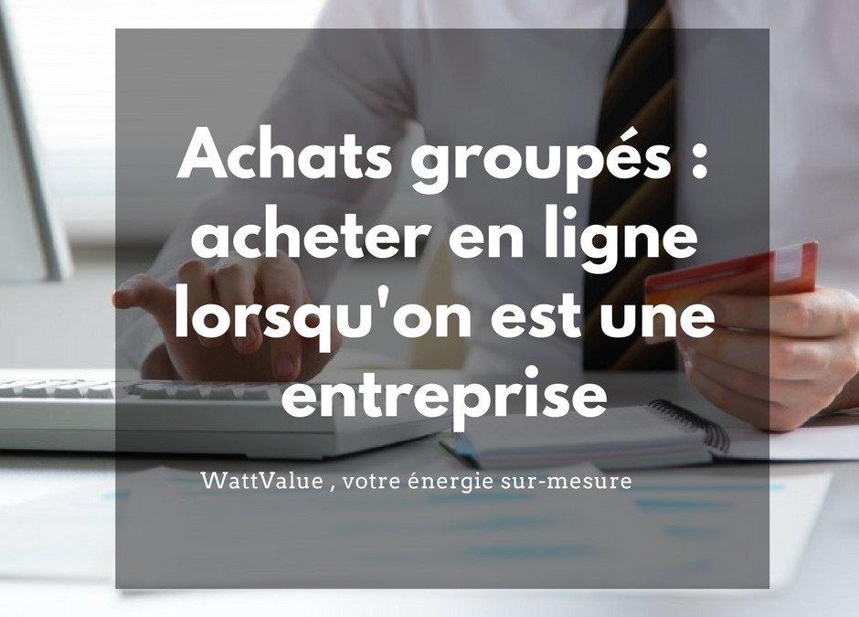 Achats groupés : acheter son énergie en ligne
