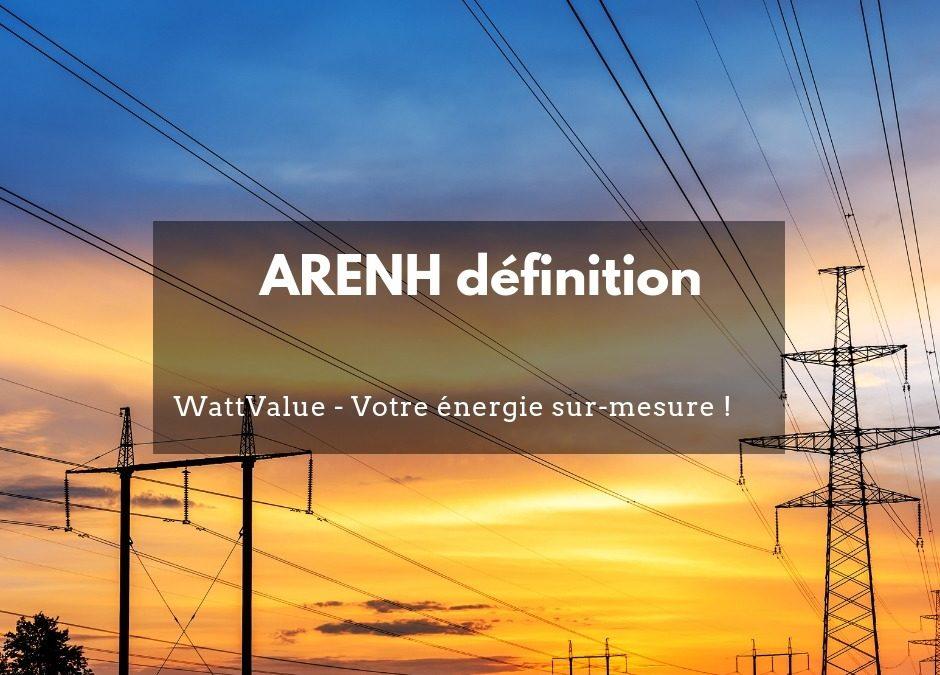 ARENH définition