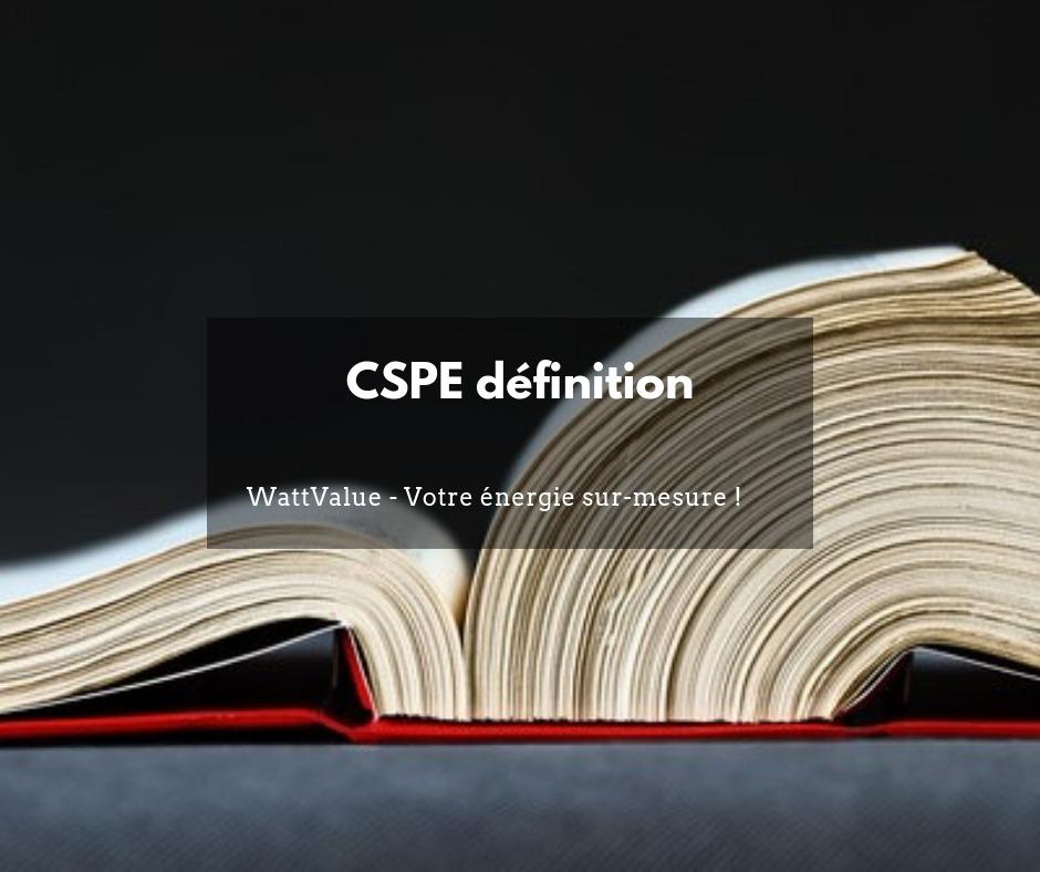 Définition CSPE