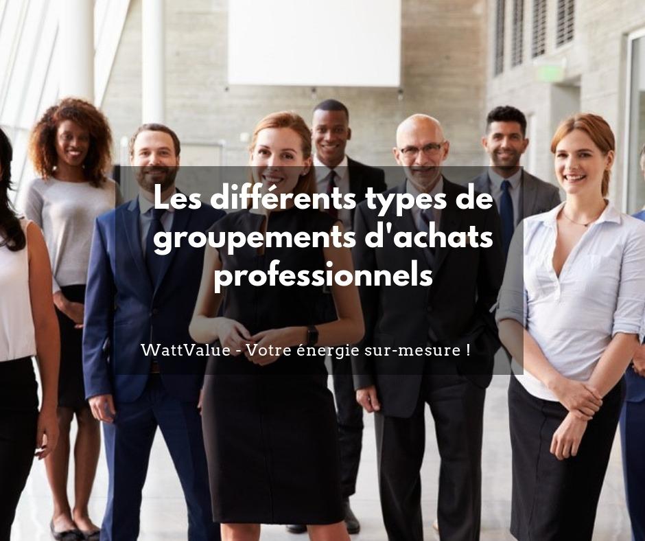 Les différents type de groupements d'achat professionnels