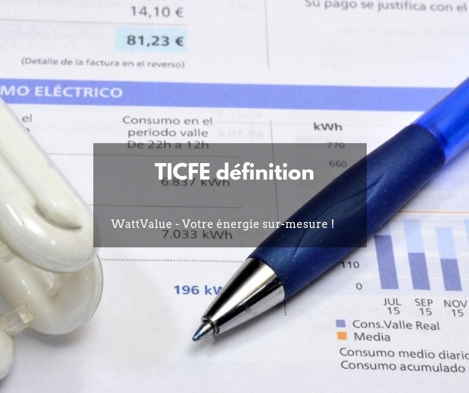 TICFE définition