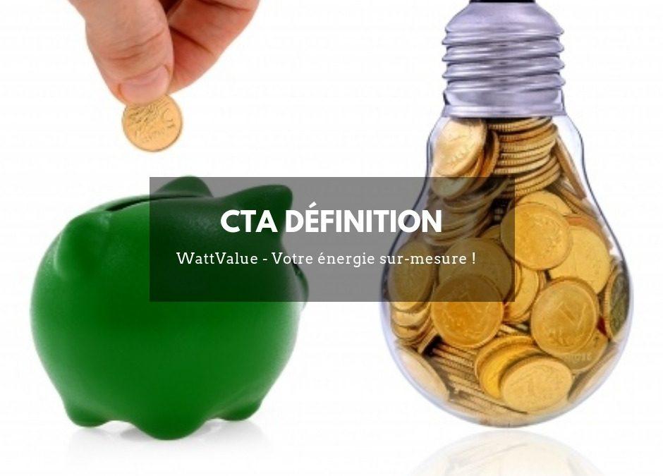 CTA définition