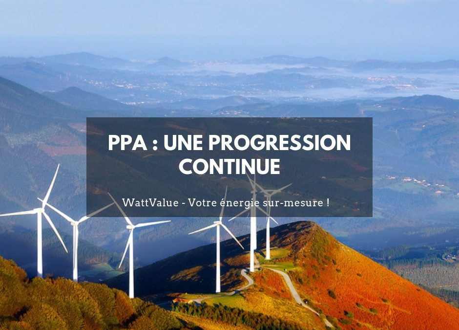 Power Purchase Agreement : une progression continue