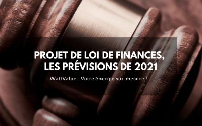 Projet de Loi de Finances, les précisions de 2021