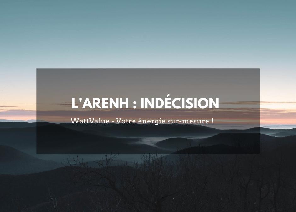 L'ARENH : indécision