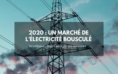 2020 : un marché de l'électricité bousculé