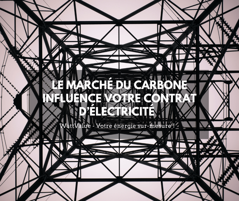 image - carbone influence électricité