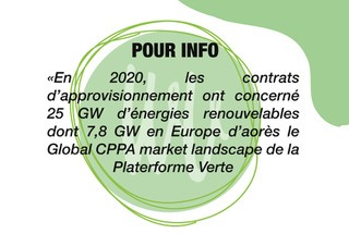 Pour info: les power purchase agreement