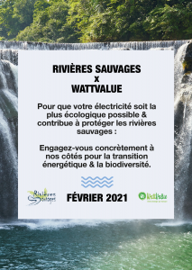 Image Rivières Sauvages x WattValue