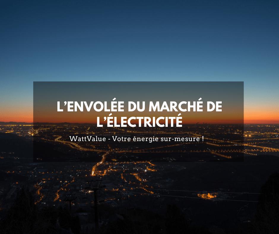 IMG -L'envolée du marché de l'électricité
